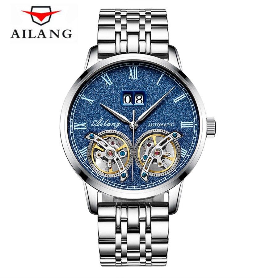 Original Men Watch Top Brand Luxury Automatic Mechanical Watch Double Tourbillon Military Watches Clock Men Relojes Masculino