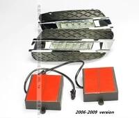 free shipping by ems led daytime running light for mercedes benz w164 ml350 ml280 ml300 ml320 ml500 2006 09 2010 11 led drl