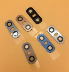 Para lg g6 câmera traseira lente h870 h871 h872 voltar principal câmera de vidro capa peças reposição