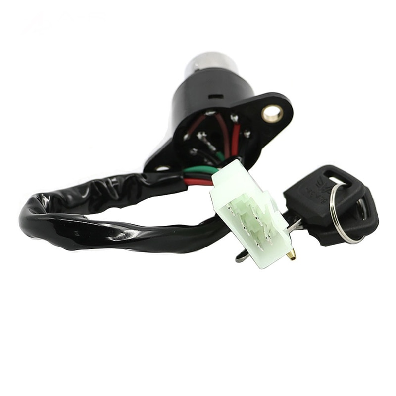 Bloqueo del interruptor de encendido con 2 teclas de ensamblaje artesanal 35100-413-007 reemplazo para Honda CB/CM 400/450 CB400 CB450 CM400 CM450