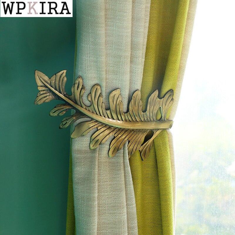 1 pieza de ganchos metálicos de cristal para colgar cortinas gancho para cortina de pared hebilla Clip de cortina soporte organizador Artificial CP-DS001 y 30