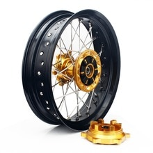 BIKINGBOY-moyeu de roue arrière pour Suzuki   4.25*17