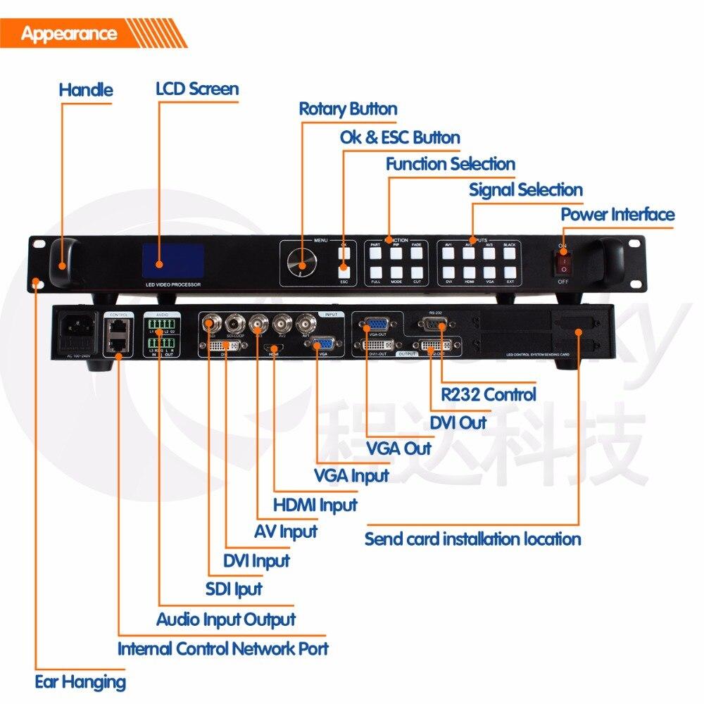 مرنة Led عرض SDI الفيديو مصفوفة الجلاد led سلس الجلاد AMS-LVP613S ل novastar msd300 كما videowall ledsync850M