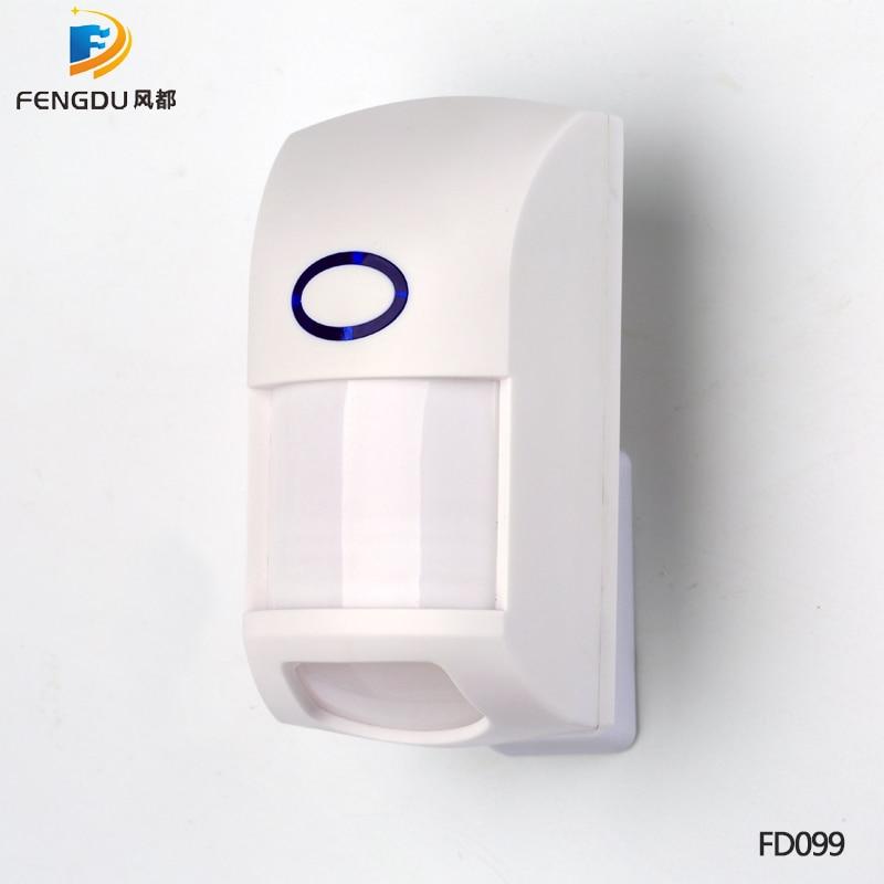 Free Shipping!New Wireless Pet-friendly Pet-Immune Animal Friendly Motion IR PIR Sensor Detector 433MHz For Alarm System enlarge