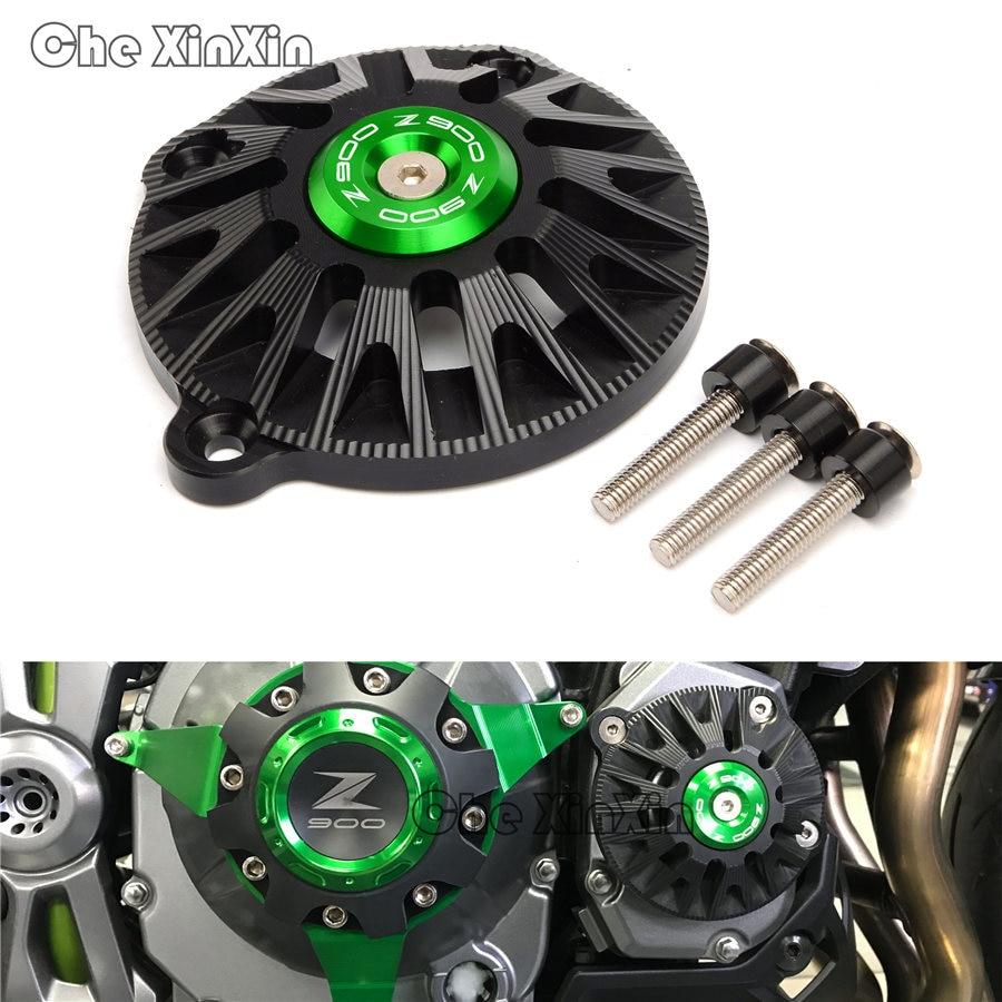 For kawasaki Z900 2017 2018 Green Moto parts Frame Slider Engine Guard Case Saver Cover Protector