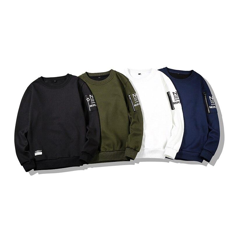 Sudaderas con capucha de primavera para hombre, camisetas de manga larga, pulóver informal sólido para hombre, sudaderas de marca, abrigos de otoño, prendas de vestir exteriores Hip Hop C39