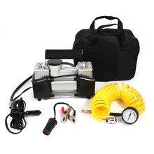Pompe Durable de compresseur dair à cylindre 12V 150 PSI   Kits de gonflage de pneus pour voiture électrique durgence automobile