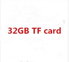 رسوم إضافية لإضافة بطاقة ذاكرة 32 جيجابايت TF