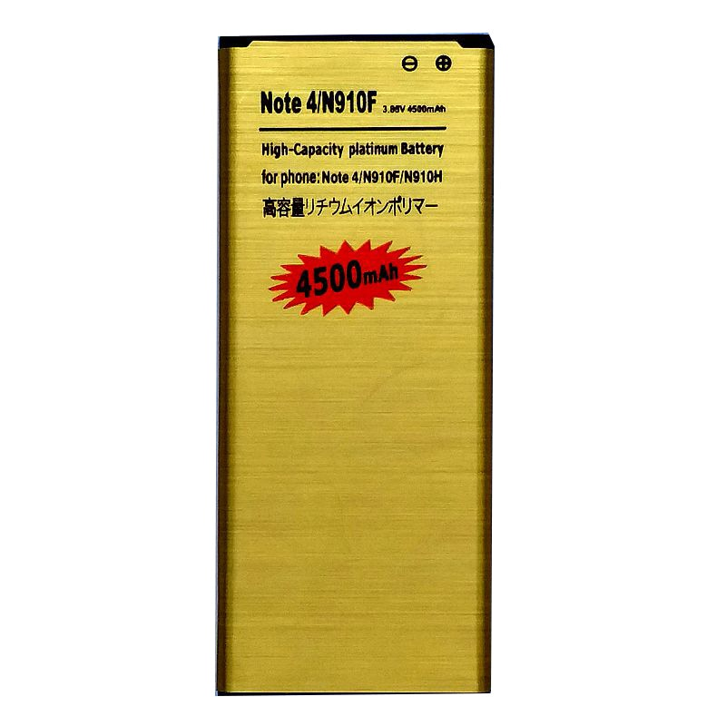 Bateria n910f para samsung galaxy note 4 n910v n910p n910c n910t baterias recarregáveis li ion acumulador no telefone