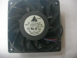 Buena calidad Delta FFB1212EHE 12 V 3.0A 12 CM Whopping doble rodamiento de bolas ventilador de refrigeración
