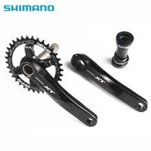 Pédalier SHIMANO Deore XT M8000 manivelle de roue à chaîne 1x11 vitesses avec plateau large étroit Deckas 96BCD 32T 34T 36T 38T avec MT800