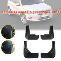 For Volkswagen VW TIGUAN (MK1) 2008-2018 Car Fender Splash Guards Mudguards Mudflaps Car Accessories 4PCS