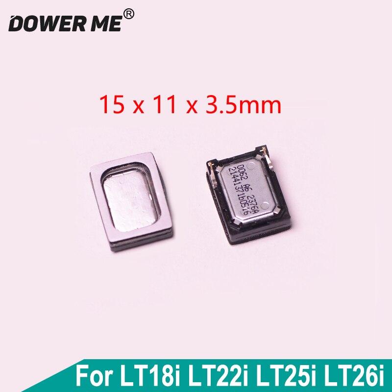 Dower Me para Sony LT18i LT22i LT25i LT26i altavoz timbre vibrador oreja altavoz con pegamento adhesivo pegatina reemplazo