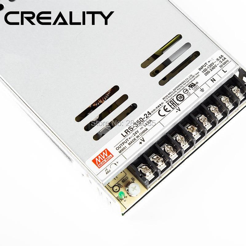 Factory Original Supply LRS-350-24V 14.6A Meanwell Power Supply For Creality 3D Printer Ender-3 Pro Ender-5 3D Printer Kit