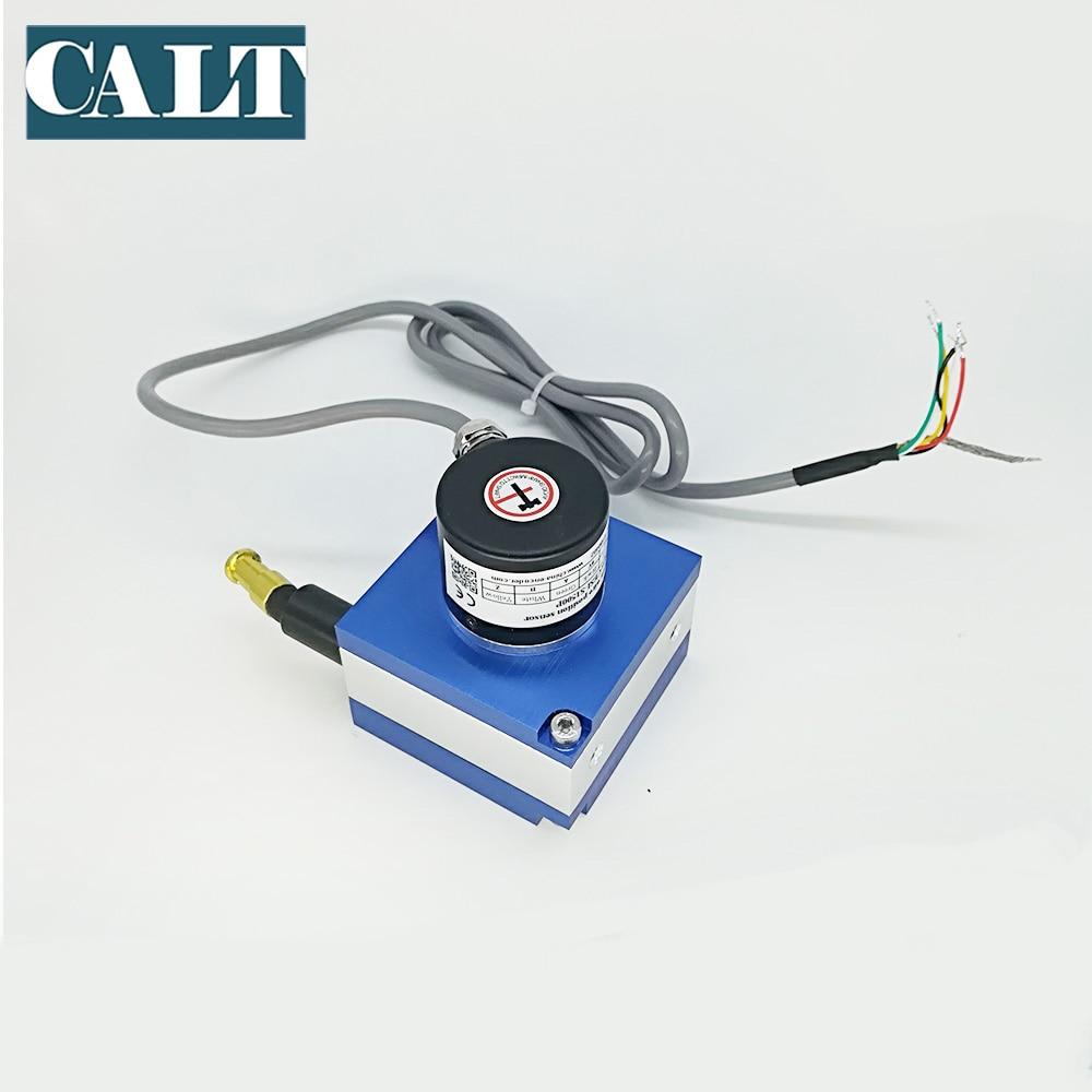 Position sensor CESI-S2000 2000mm digital pulse output displacement sensor Push pull Line driver NPN PNP Voltage output