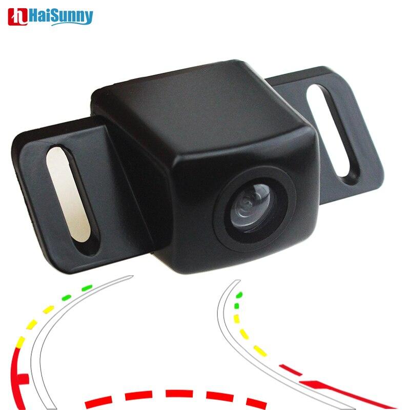 Автомобильная парковочная камера заднего вида CCD HD динамическая траектория линии ночного видения для Toyota Prius Camry Lifan Solano (620)