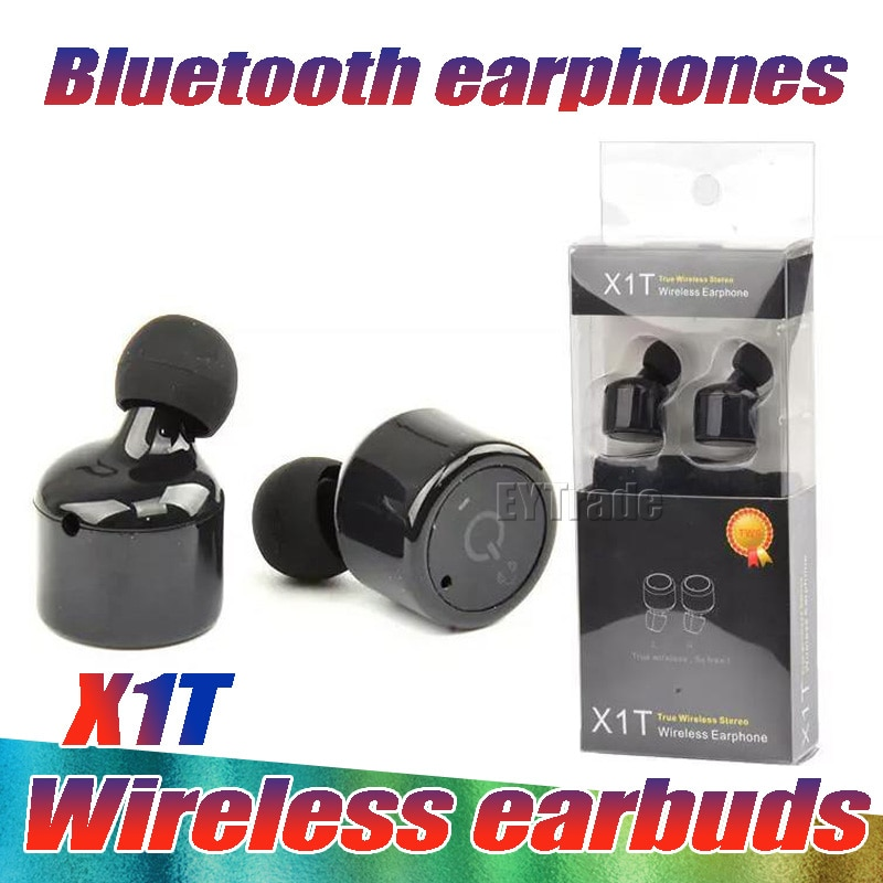 10 unids/lote X1T Mini auriculares Bluetooth último CSR Bluetooth auriculares de manos libres para Iphone Samsung Xiaomi auriculares inalámbricos verdaderos