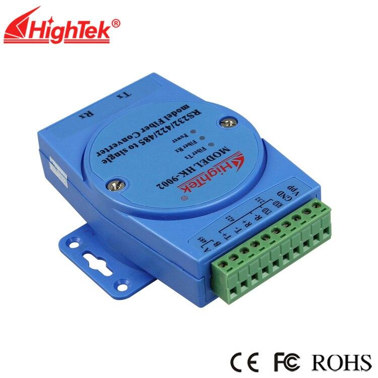 RS232 إلى وضع واحد تحويل الألياف البصرية RS485/422 إلى الألياف البصرية SC واجهة تحويل HK-9002