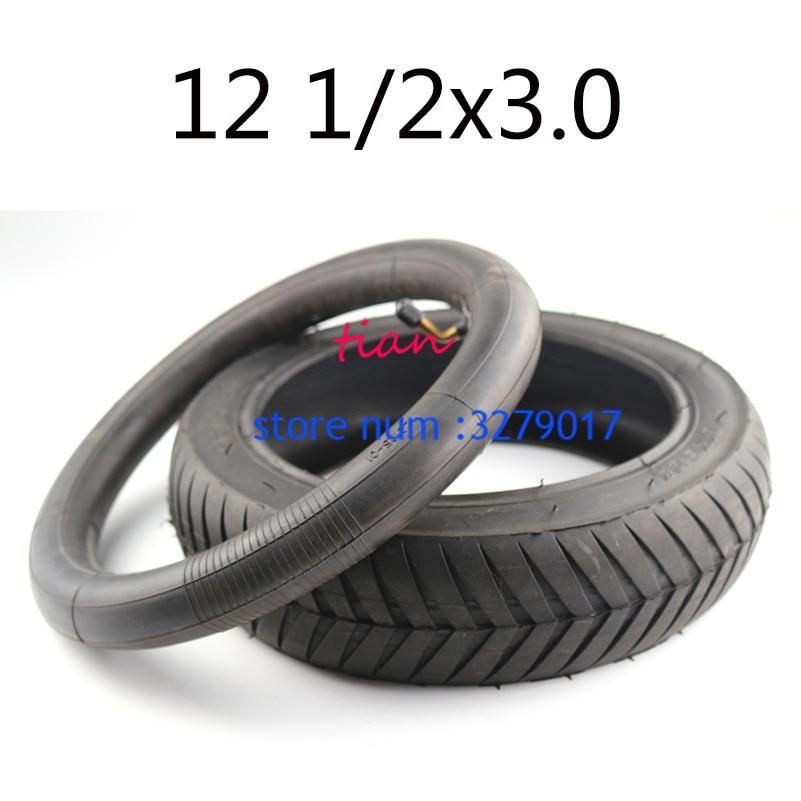 "NEW 12 1/2x3.0 tyre 12-1/2"" x 3.0"" Tire & Tube Set 12-1/2'' x 3.0''  12'' Tire Currie Izip Schwinn ezip electric scooters"