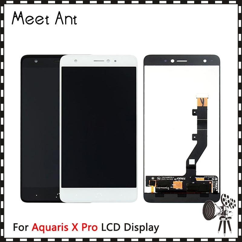 "10 pçs/lote alta qualidade 5.2 ""para bq aquaris x pro display lcd tela com tela de toque digitador assembléia"