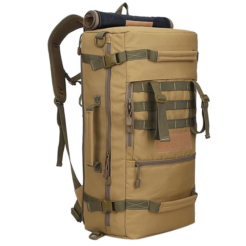 50L mochila de Camping bolsas de senderismo bolsas de Montañismo mochila de senderismo para hombre mochila de viaje