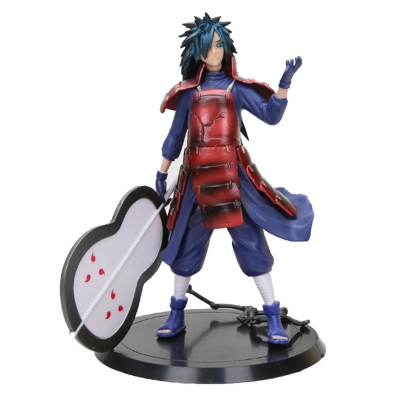 16cm Naruto Shippuden Uchiha Madara Naruto Abbildung Anime Action Figure Sammeln Modell Puppe