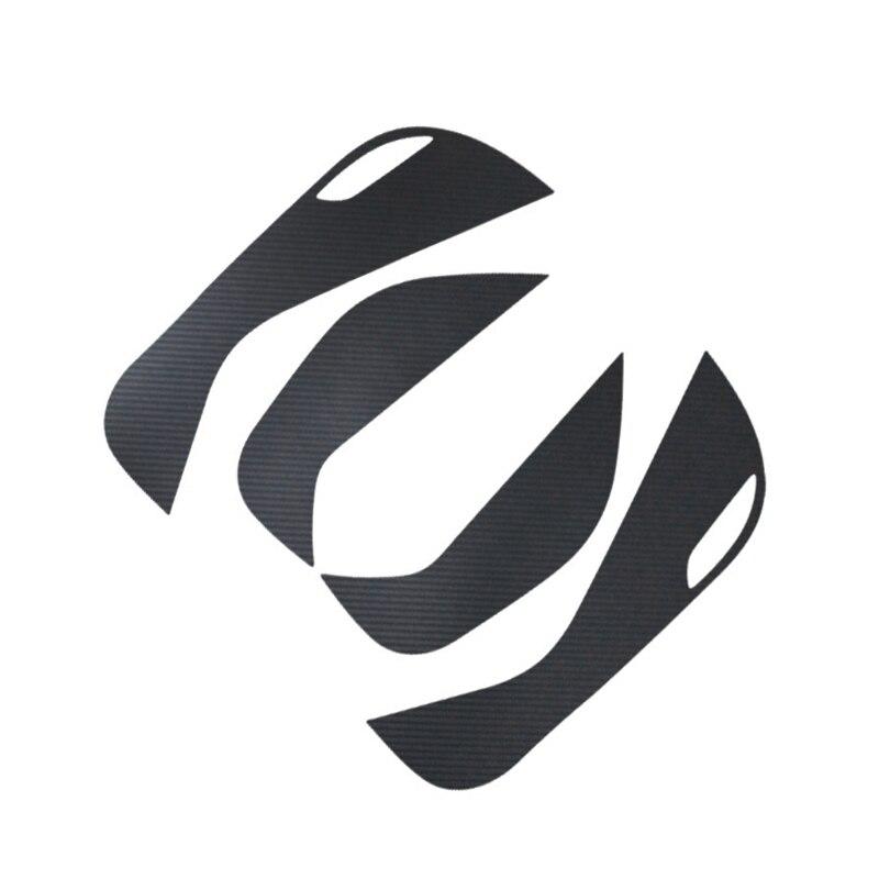 4 pçs porta lateral decalque interno anti pontapé etiqueta protetora para hyundai tucson 2015 2016 para acessórios do carro