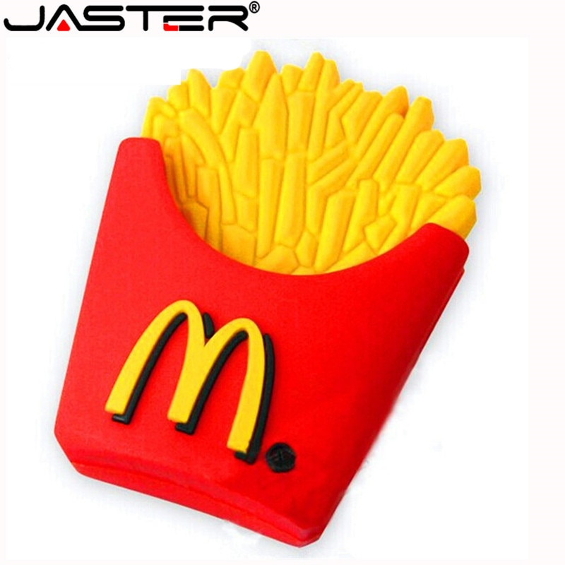 JASTER, la nueva unidad flash USB McDonalds bonita, memoria USB 2,0 minions, Memoria pendrive 4GB 8GB 16GB 32GB 64 GB, regalo