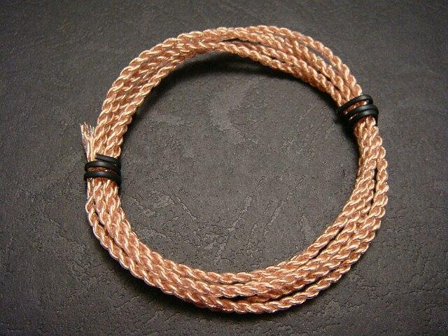 Cable de cobre de cristal único 7n 4 cable suave de compartir 80 núcleos