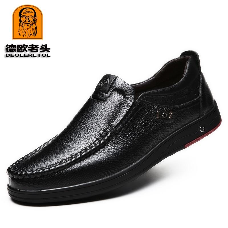 2021 حديثا الرجال أحذية من الجلد الحقيقي حجم 38-47 رئيس الجلود لينة المضادة للانزلاق أحذية قيادة رجل الربيع أحذية من الجلد