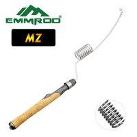 Emmrod Stainless Portable Fishing Pole Rod Spinning Fish Hand Fishing Tackle Sea Rod Ice Fishing rod Boat/Raft Rod Rock Rod MZ