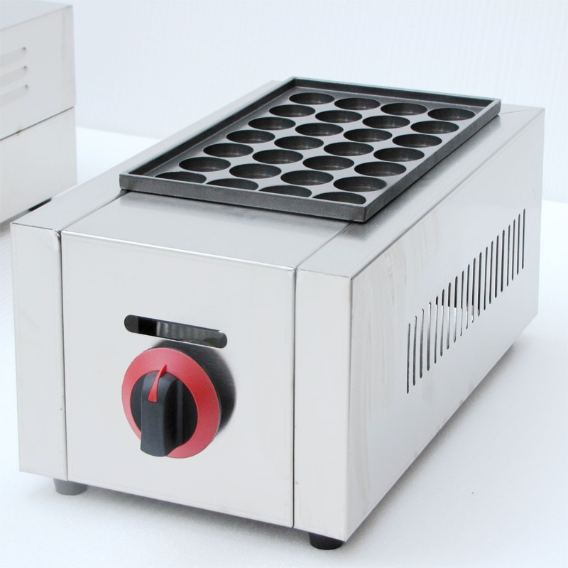 Frete grátis gás mini codorna ovo fabricante mini polvo bolas takoyaki grill