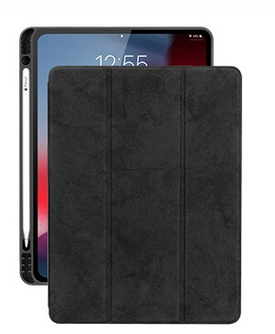 Para iPad Pro 11 2018 Funda con portalápices protección completa a prueba...
