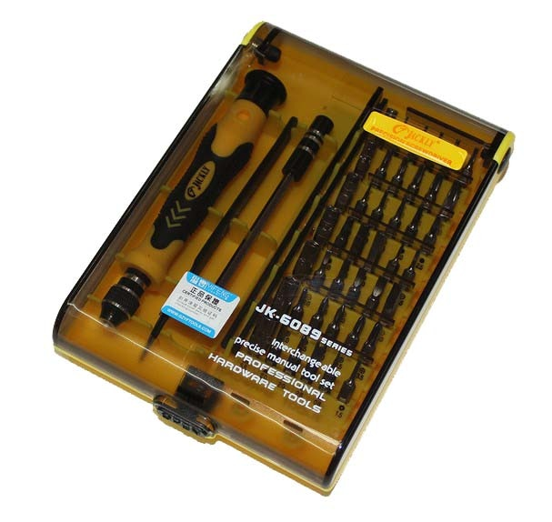 Набор Магнитных отверток JACKLY JK6089A 45 в 1, Набор прецизионных отверток, набор инструментов Torx 100% оригинал JACKLY JACKMY