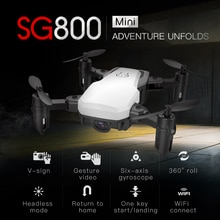 SG800 mini Drone mit HD Kamera Höhe Halten RC Drohnen mit Kamera HD Wifi FPV Quadcopter Eders RC Hubschrauber VS s9 S9HW