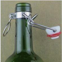 Bouchon de bière de bière en plastique   12 pièces, bouchon rabattable, racine de bière, remplacement, Swing, hauts, bouchons de brassage hometox, livraison gratuite