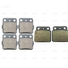 Bremse Schuh Pads set fit für SUZUKI LT-Z LTZ 400 Quad Sport (03-15) ARCTIC CAT DVX 400 TS (04-09) Vorne Hinten