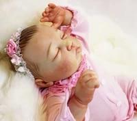 100 handmade exquisite reborn babies dolls 20 real newborn babies silicone doll girls toys gift boneca reborn realista