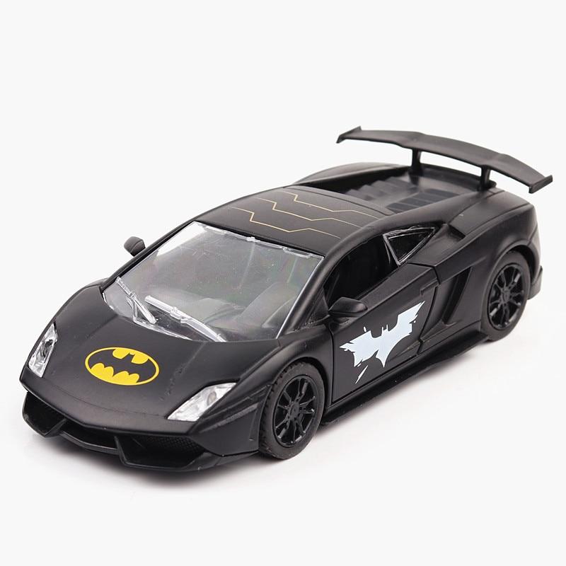 1:36 модель автомобиля Gallardo модель гоночной машины сплав Автомобиль Моделирование звук и свет оттяните назад Автомобильные украшения детски...