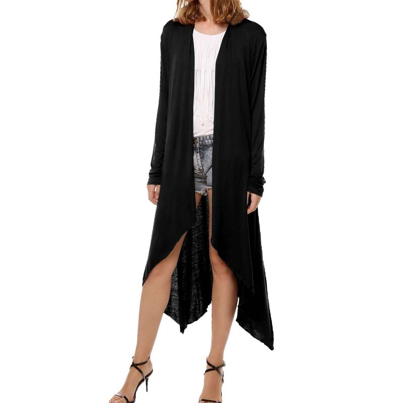 Women Long Style Thin Trench Coat Long Sleeve Autumn Cardigan New Fashion Trench Womens Clothes