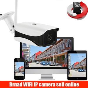 Camera 5MP 3MP 2MP H.265 Wifi Security Waterproof Bullet Camera CCTV IR Night Vision 6 array IR CCTV Home Camera Metal