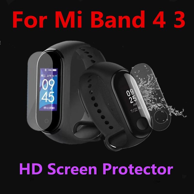 Mi band 4-Protector de pantalla, 2 uds./1 ud., película para protección de pantalla para Xiaomi Mi band 3 y Mi band 4, Anti arañazos