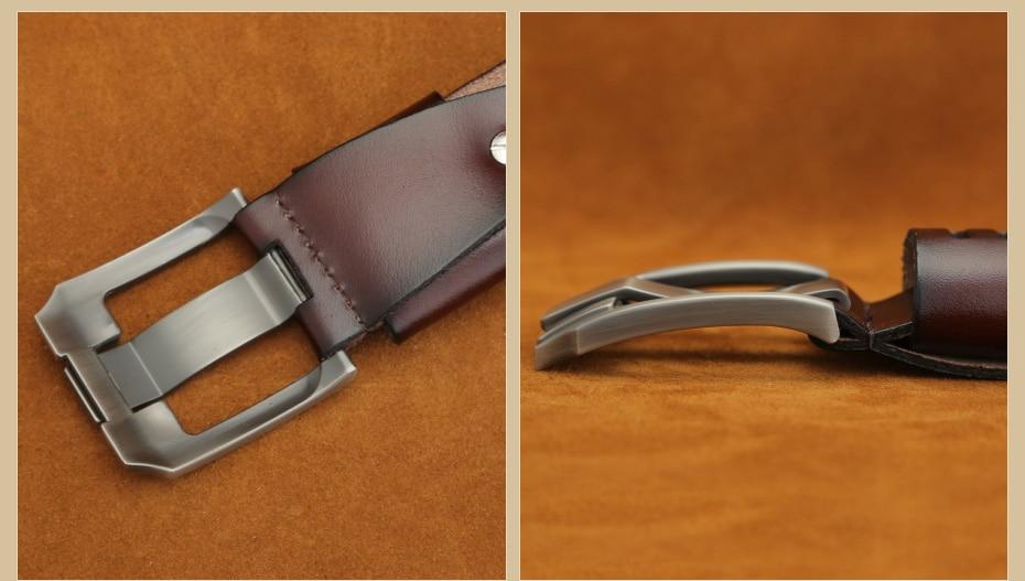 [Miluota] pasy designer mężczyźni wysokiej jakości prawdziwy skórzany pas dla mężczyzn luksusowe ceinture homme military style 130 cm mu012 14