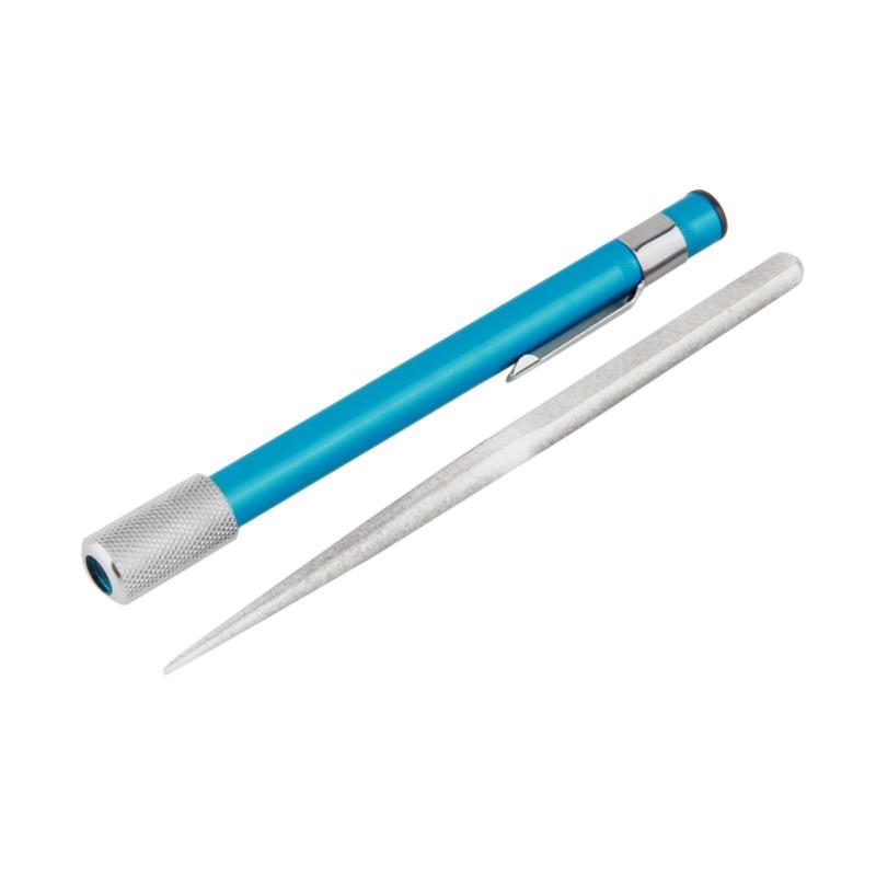 Aço inoxidável Haste de Afiar Sharpener Pen-Arquivo Arquivos de Stanley Stanley Fatmax Multitool Ao Ar Livre Faca de Lâmina de Serra Faca de Caça