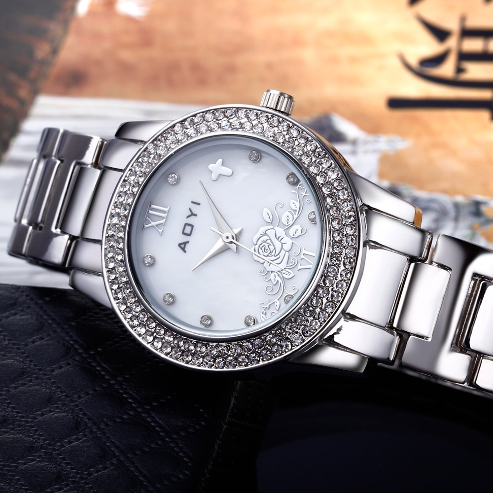 Cool trendy watch best gift fast shipping excellent workmanship very well and pretty watches ladies enlarge
