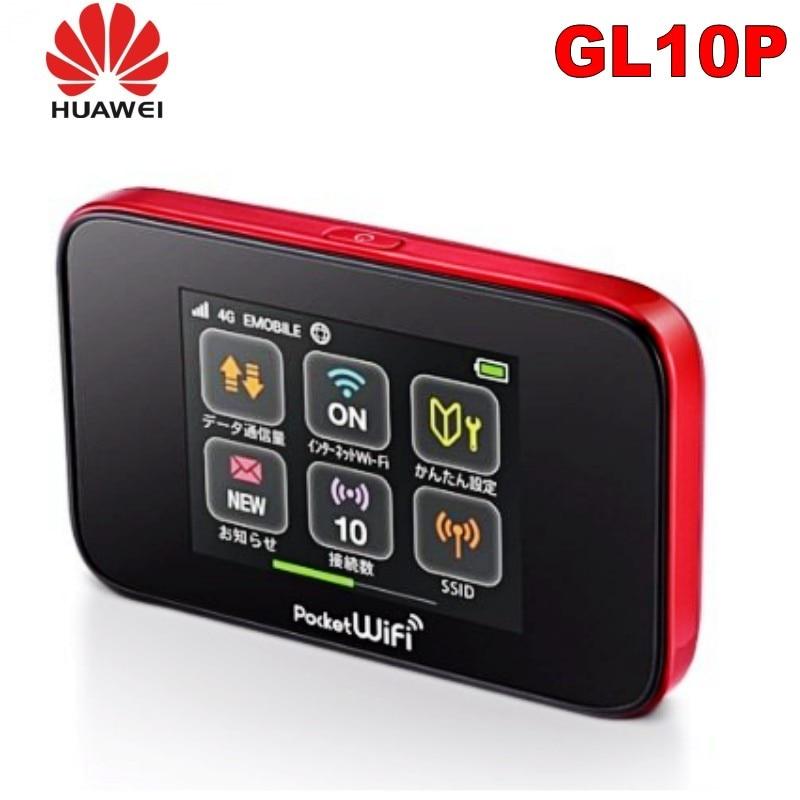 جهاز توجيه لاسلكي هواوي GL10P 4G جيب واي فاي 4g LTE مفتوح مع فتحة لبطاقة SIM