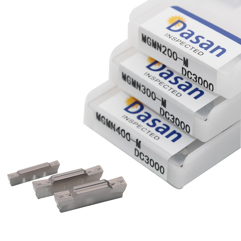 10 Uds MGMN300 MGMN200 MGMN400 M C insertos de Metal ranurado CNC herramienta de torneado para portaherramientas