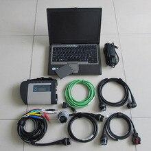 Logiciel de diagnostic   2020.3 SSD avec matériel, mo Star C4 SD, outil de diagnostic, scanner C4 SD avec D630 pc portable