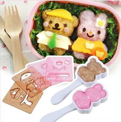 السوشي مجموعة بينتو نوري السوشي أداة مصنعين بيع دمية اللباس هل مجموعة قوالب الحيوان لتقوم بها بنفسك علب الاغذية للأرز والخضروات لفة