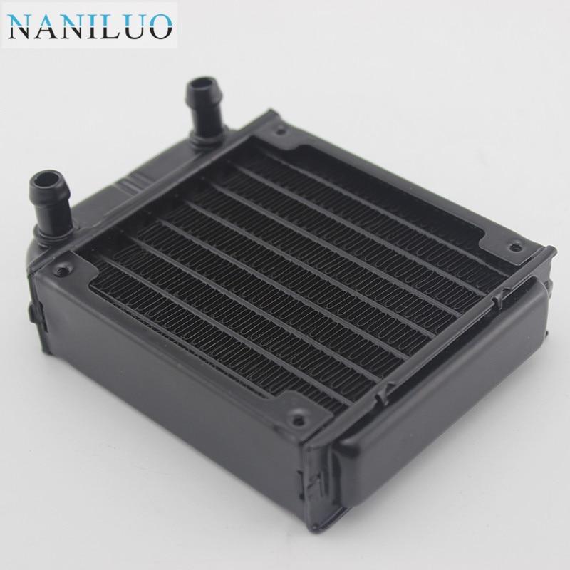 NANILUO 80mm water cooling radiator for computer Chip CPU GPU VGA RAM Laser cooling cooler Aluminum Heat Exchanger